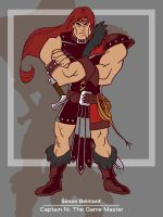 Captain N: Simon Belmont by kevinbolk