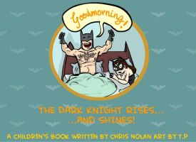 The Dark Knight Rises and Shines! by tarunbanned