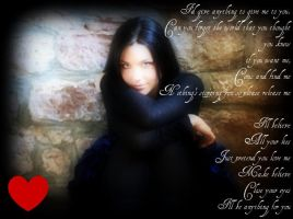 "Amy Lee ""Anything for you"" by pierrettepaola"