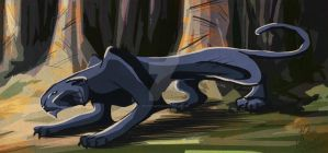 Panther - Des Bois by JenTheThirdGal