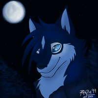 Blaxis the Wolf by RenZie99