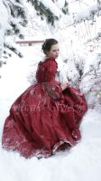lady rose red by magikstock