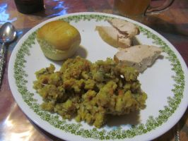 My 2015 Thanksgiving Plate 1 by BigMac1212