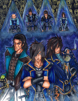 The Merry Men of Oshu by SpiritLullaby