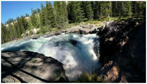 Siffleur Falls - From the top by djorgensen