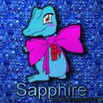 Sapphire by Dracomonstar