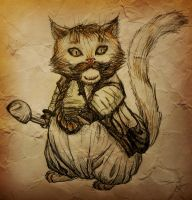 Bombur cat by Willuna
