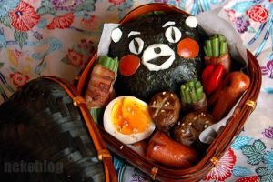 Kumamon Bento by YnekochanY