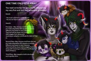 ONE TIME ONLY GIVE AWAY by gaaradesertdreams
