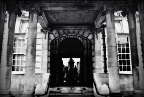 Entrance at the City Hall by BELFASTBAP