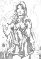 Mary Marvel by Deilson