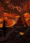 Mount Doom by Aiofa