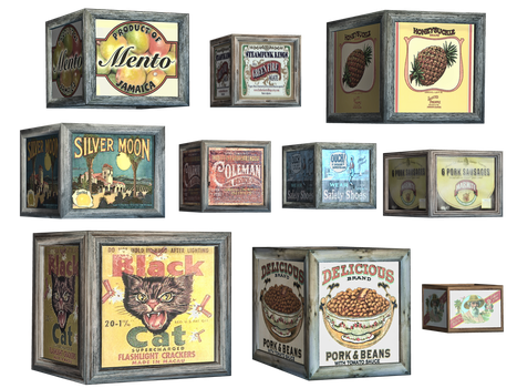Cases PNG Stock by Roy3D