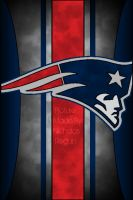 New England Patriots iPhone 4S Background by FBGNEP