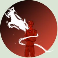 Harry's Patronus - The Stag by abMaiHirn
