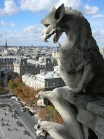 Chimera of Notre Dame by Poj5