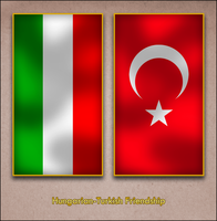 Hungarian Turkish Friendship by AY-Deezy
