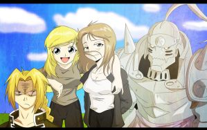 Full metal Alchemist Memorial by Natty354