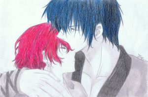 Yona and Hak by JustMyselff