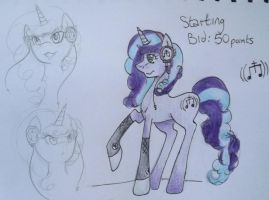 My Little Pony Auction - OPEN by AriesAdopts