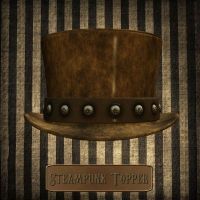 Steampunk Topper by zememz