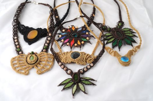 Necklace collection by nimuae