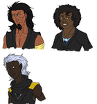 3rd Seat busts (WIP) by snakes-on-a-plane
