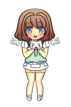 another gaia commish by Chibi-Poo
