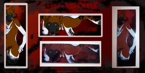 Chigaru Bookmark by Jeakilo