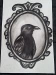 The Raven by JamieSketch101