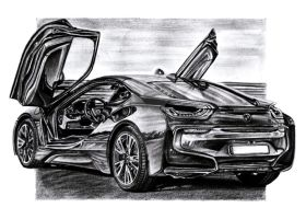 BMW i8 by Arek-OGF