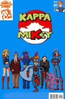 Kappa Mikey Comic Cover by kappalizzy
