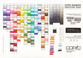 Copic Color Chart by Ascadelia