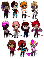 Valentines Day Adopts [CLOSED] by RefiBones