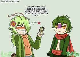 Drunk Leaf is horny by P-ChanAndP-Kun