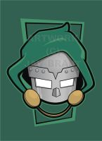Heads Up Doctor Doom V2 by HeadsUpStudios