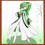 Traditional Gardevoir~ by Aitrellos