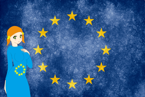 HM CSF EU flag background by ABtheButterfly