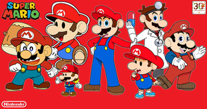 Super Mario 30th Anniversary Special Artwork by JBX9001