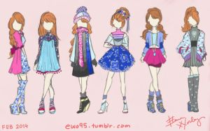 Anna Inspired Fashion (Frozen) by Ellphie