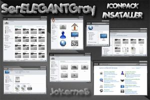 SerELEGANT IconPack Installer by JokerneB