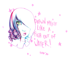 Like a fish out of water by 3lda