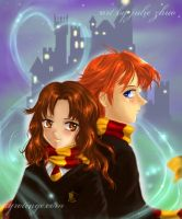 A little Hogwarts crush by joulee