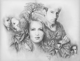 X-Files Autumn by TerryXart