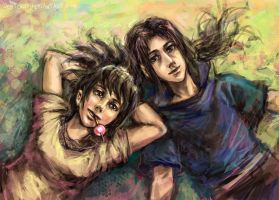 Itachi and Anko: Dreamers by jesterry