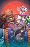 BikerMice From Mars by Kyle-Fast