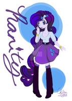 Rarity Equestria Girls by The-Virgo-Fairy