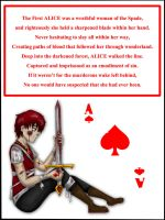 Sasori Alice Card by AkatsukiMemberWoolfy