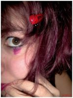 the girl with the ladybird by arti-chaut