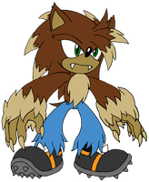 Dan Guru the Werehog by Sonicguru